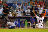 May 7, 2014, New York Mets vs Miami Marlins - Giancarlo Stanton Photographic Print by Mike Ehrmann