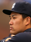 Jun 6, 2014, New York Yankees vs Kansas City Royals - Masahiro Tanaka Photographic Print by Ed Zurga