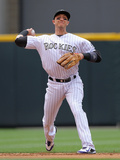 Jun 22, 2014, Milwaukee Brewers vs Colorado Rockies - Troy Tulowitzki Photographic Print by Doug Pensinger
