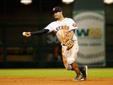 May 29, 2014, Baltimore Orioles vs Houston Astros - Jose Altuve Photographic Print by Scott Halleran