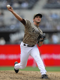 May 5, 2013, Arizona Diamondbacks vs San Diego Padres - Huston Street Photographic Print by Denis Poroy
