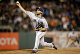 Apr 28, 2014, San Diego Padres vs San Francisco Giants - Huston Street Photographic Print by Ezra Shaw