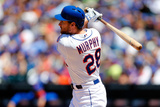 Jun 15, 2014, San Diego Padres vs New York Mets - Daniel Murphy Photographic Print by Jim McIsaac