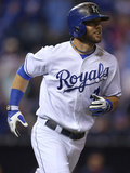 Jun 10, 2014, Cleveland Indians vs Kansas City Royals - Alex Gordon Photographic Print by Ed Zurga