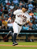 May 29, 2014, Baltimore Orioles vs Houston Astros - Jose Altuve Photographic Print by Scott Halleran