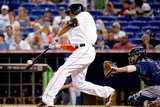 Jun 2, 2014, Tampa Bay Rays vs Miami Marlins - Giancarlo Stanton Photographic Print by Rob Foldy
