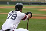 Apr 30, 2014, Detroit Tigers vs Chicago White Sox - Jose Abreu Photographic Print by Jonathan Daniel