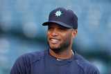 Apr 1, 2014, Seattle Mariners vs Los Angeles Angels of Anaheim - Robinson Cano Photographic Print by Jeff Gross