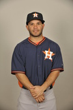 2014 Houston Astros Photo Day: Feb 21 - Jose Altuve Photographic Print by Tony Firriolo