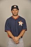 2014 Houston Astros Photo Day: Feb 21 - Jose Altuve Photographic Print by Tony Firriolo
