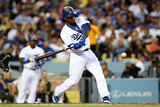 Jun 17, 2014, Colorado Rockies vs Los Angeles Dodgers - Hanley Ramirez Photographic Print by Stephen Dunn