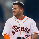 May 3, 2014, Seattle Mariners vs Houston Astros - Jose Altuve Photographic Print by Bob Levey