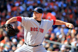 Mar 31, 2014, Boston Red Sox vs Baltimore Orioles - Jon Lester Photographic Print by Rob Carr