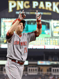 Jun 17, 2014, Cincinnati Reds vs Pittsburgh Pirates - Todd Frazier Photographic Print by Joe Sargent