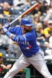 May 4, 2014, Toronto Blue Jays vs Pittsburgh Pirates - Jose Bautista Photographic Print by Justin K. Aller