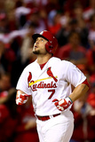 2013 World Series Game Five: Oct 28, Boston Red Sox vs St Louis Cardinals - Matt Holliday Photographic Print