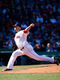 Apr 6, 2014, Milwaukee Brewers vs Boston Red Sox - Jon Lester Photographic Print by Jared Wickerham