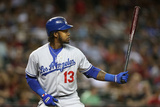 May 16, 2014, Los Angeles Dodgers vs Arizona Diamondbacks - Hanley Ramirez Photographic Print by Christian Petersen