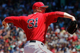 Jul 5, 2014, Baltimore Orioles vs Boston Red Sox - Jon Lester Photographic Print by Jim Rogash