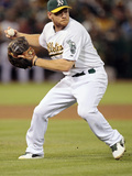 Sep 6, 2013, Houston Astros vs Oakland Athletics - Brandon Moss Photographic Print by Brian Bahr