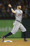 Jun 24, 2014, Detroit Tigers vs Texas Rangers - Ian Kinsler Photographic Print by Cooper Neill