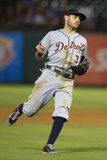 Jun 25, 2014, Detroit Tigers vs Texas Rangers - Ian Kinsler Photographic Print by Cooper Neill