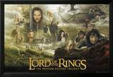 Le Seigneur des Anneaux Trilogie Collage, Lord of the Rings Posters