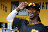 May 11, 2012, Houston Astros vs Pittsburgh Pirates - Andrew McCutchen Photographic Print by Jared Wickerham