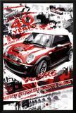 Rallye Monte Carlo (Automotive Race) Art Poster Print Photo