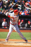 Apr 6, 2013, Cincinnati Reds vs New York Mets - Todd Frazier Photographic Print by Al Bello