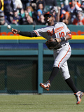 Apr 5, 2014, Baltimore Orioles vs Detroit Tigers - Adam Jones Photographic Print by Duane Burleson