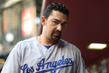 May 16, 2014, Los Angeles Dodgers vs Arizona Diamondbacks - Adrian Gonzalez Photographic Print by Christian Petersen