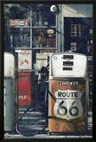 Route 66 - Gas Station Prints