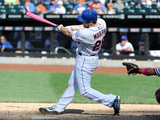 May 11, 2014, Philadelphia Phillies vs New York Mets - Daniel Murphy Photographic Print by Christopher Pasatieri