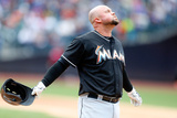 Apr 27, 2014, Miami Marlins vs New York Mets - Casey McGehee Photographic Print by Jim McIsaac