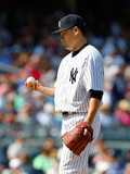 Jun 22, 2014, Baltimore Orioles vs New York Yankees - Masahiro Tanaka Photographic Print by Jim McIsaac