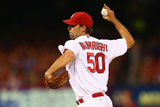 Jul 7, 2014, Pittsburgh Pirates vs St. Louis Cardinals - Adam Wainwright Photographic Print by Dilip Vishwanat