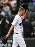 Mar 31, 2014, Minnesota Twins vs Chicago White Sox - Chris Sale Photographic Print by Jonathan Daniel