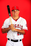 Los Angeles Angels Photo Day: Feb 26, 2014 - Mike Trout Photographic Print by Jamie Squire