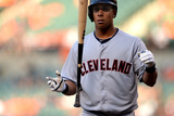 May 23, 2014, Cleveland Indians vs Baltimore Orioles - Michael Brantley Photographic Print by Patrick Smith