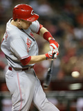 May 29, 2014, Cincinnati Reds vs Arizona Diamondbacks - Todd Frazier Photographic Print by Christian Petersen
