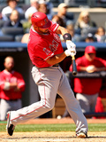 Apr 26, 2014, Los Angeles Angels of Anaheim vs New York Yankees - Albert Pujols Photographic Print