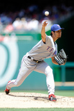 Jun 1, 2014, Texas Rangers vs Washington Nationals - Yu Darvish Photographic Print by Greg Fiume