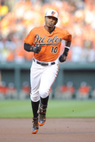 Jun 7, 2014, Oakland Athletics vs Baltimore Orioles - Adam Jones Photographic Print by Greg Fiume