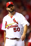 2013 World Series Game Five: Oct 28, Boston Red Sox vs St Louis Cardinals - Adam Wainwright Photographic Print
