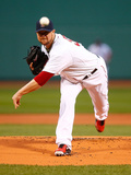 Apr 22, 2014, New York Yankees vs Boston Red Sox - Jon Lester Photographic Print by Jared Wickerham
