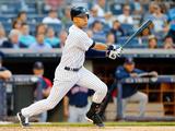Jun 27, 2014, Boston Red Sox vs New York Yankees - Derek Jeter Fotografisk tryk af Jim McIsaac