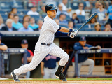 Jun 27, 2014, Boston Red Sox vs New York Yankees - Derek Jeter Photographic Print by Jim McIsaac
