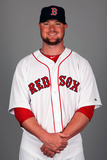 2014 Boston Red Sox Photo Day: Feb 23 - Jon Lester Photographic Print by Eliot J. Schechter