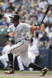 May 26, 2014, Baltimore Orioles vs Milwaukee Brewers - Adam Jones Photographic Print by Jeffrey Phelps